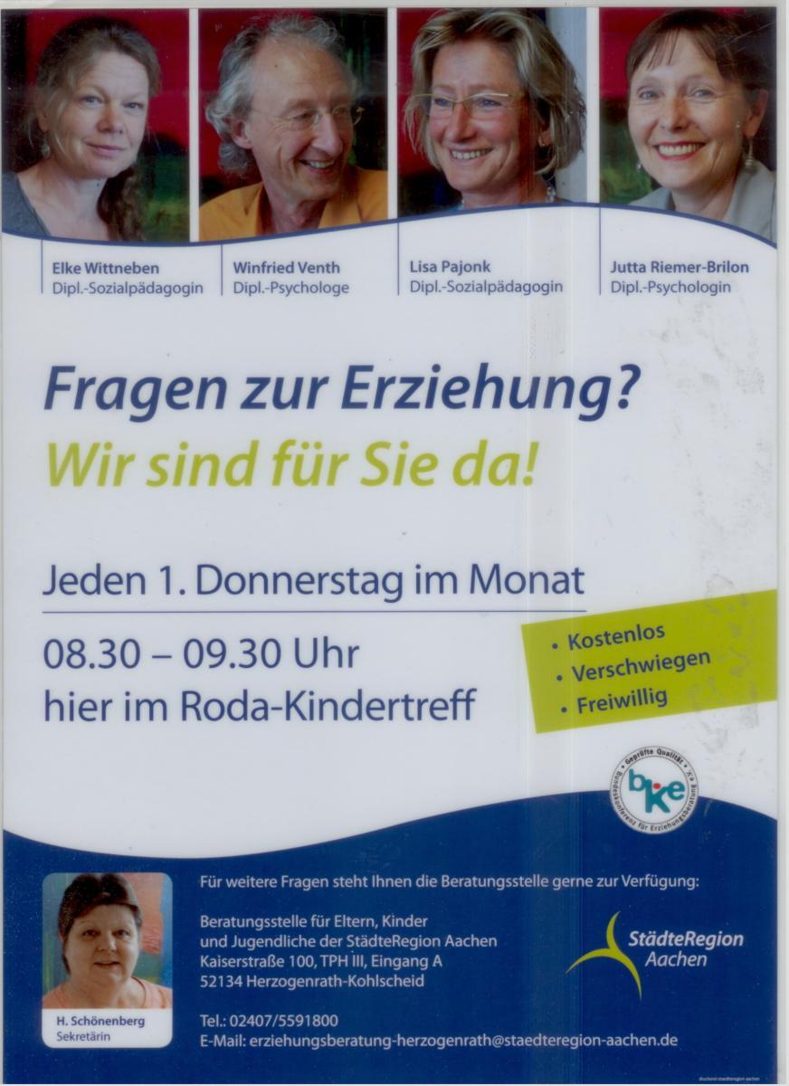 Plakat Erziehungsberatung